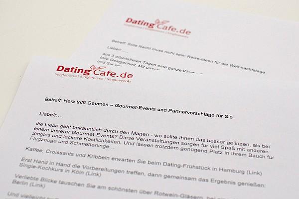 Dating cafe hamburg